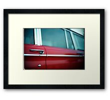 Car Door Handle Framed Print