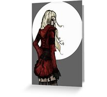 Red Rider Greeting Card