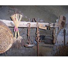 rack of tools Photographic Print