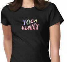 yoga bunny Womens Fitted T-Shirt