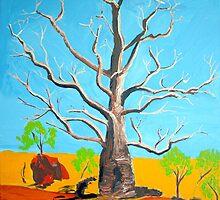 Broome Boab Tree Western Australia by gillsart