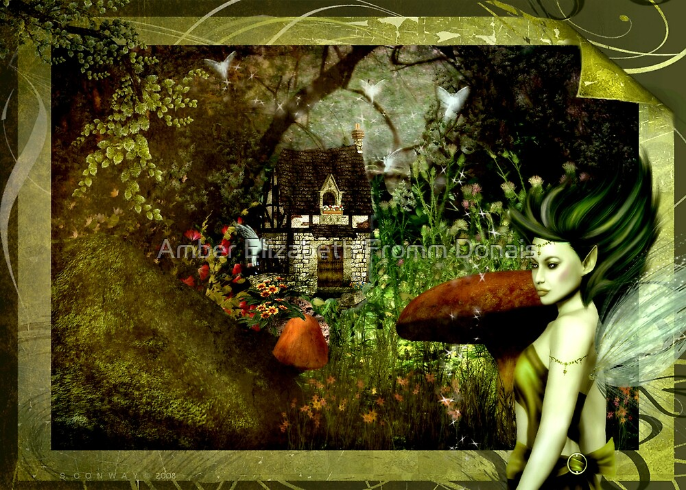 Tis Where Fairies Are Kept....  by Amber Elizabeth Fromm Donais