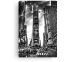 Godfingers in Times Square Canvas Print