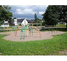 Forgotton Playground Photographic Print