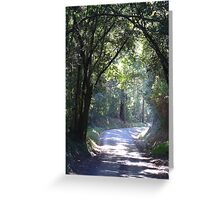 The Cross through The Archway Greeting Card
