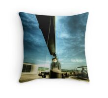 death from above 6 Throw Pillow