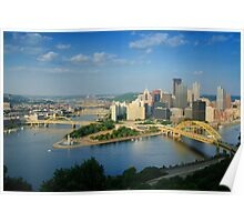 Pittsburgh Pennsylvania (Alan Copson © 2007) Poster