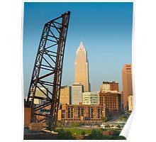 Cleveland Ohio (Alan Copson © 2007) Poster