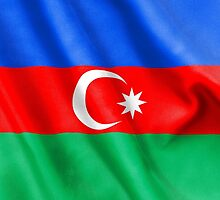 Azerbaijan Flag by MarkUK97