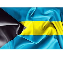 Bahamas Flag Photographic Print