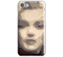 marilyn collage papercraft 3-d iPhone Case/Skin