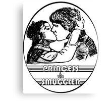 Princess & The Smuggler Canvas Print