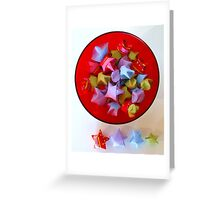 Paper Stars Greeting Card