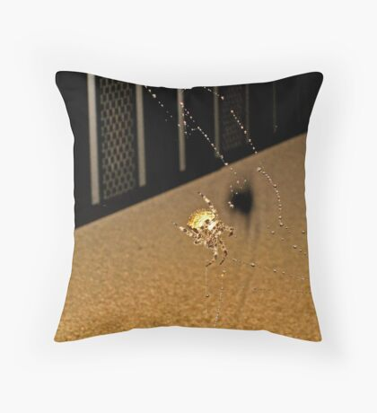Biff the Spider Throw Pillow
