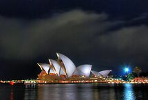 Opera House at Night II by andreisky
