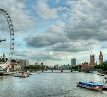 London Skyline by Andy Wickenden