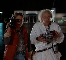 Doc and Marty  by Pamfakner
