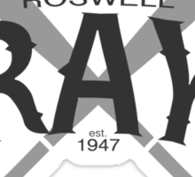 Roswell Grays Baseball Sticker