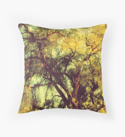Ethereal Branches Throw Pillow