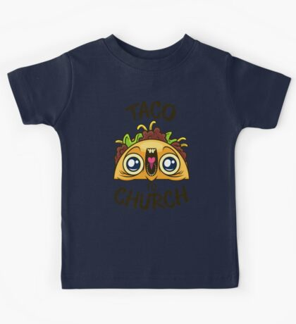Excited Taco - Church Kids Tee