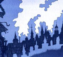 Cityscape Sticker