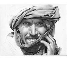 Abdel - Man in a Turban Photographic Print