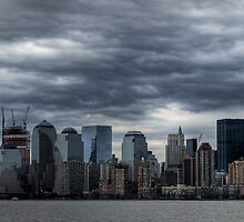 stormy skies over nyc by blackoutangel