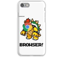 Browser! Mario Cars 2 64 shirt. iPhone Case/Skin