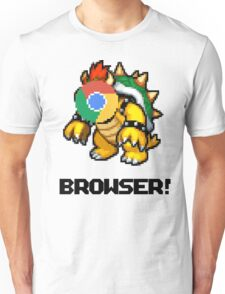 Browser! Mario Cars 2 64 shirt. Unisex T-Shirt