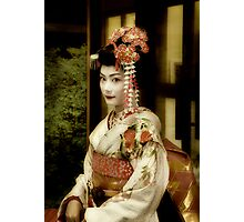 Meiko at Gion Photographic Print