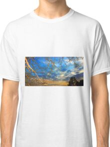 Dusk through the trees Classic T-Shirt