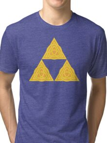 Celtic Triforce Tri-blend T-Shirt