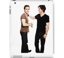 Damon and Stefan Salvatore iPad Case/Skin