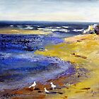 At the beach (Tasmania ) by Ivana Pinaffo