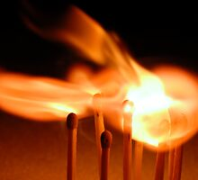 Lighting Matches 01 by Graham Taylor