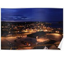 Invergordon by Night Poster