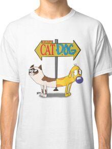 Grumpy Cat Dog Classic T-Shirt