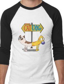 Grumpy Cat Dog Men's Baseball ¾ T-Shirt