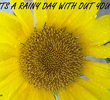 RAINY DAY WITHOUT YOU  by Michelle BarlondSmith