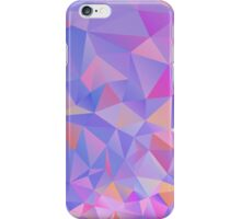 Colorful Polygon Background iPhone Case/Skin