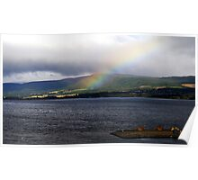 Cromarty Firth, Fyrish Hill, NE Scotland Poster