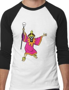 Scooby Doo Witch Doctor Villain Men's Baseball ¾ T-Shirt
