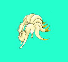 POKEMON NINETAILS by gypsyandbonnie