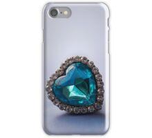 Blue heart iPhone Case/Skin