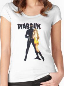 Danger Diabolik Women's Fitted Scoop T-Shirt