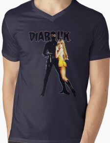 Danger Diabolik Mens V-Neck T-Shirt