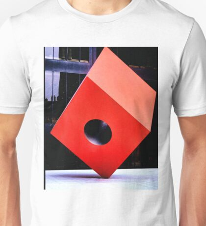 Red Cube Unisex T-Shirt