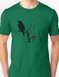 Little Birdy - Black Unisex T-Shirt