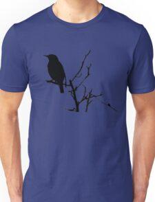 Little Birdy - Black Unisex T-Shirt