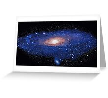 """Exclusive """" the painting Space """"  01 (c)(t)   olao-olavia  by okaio creations Greeting Card"""